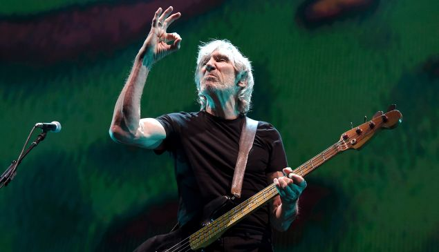 Roger Waters performs during his Us + Them Tour at Staples Center on June 20, 2017 in Los Angeles, California.