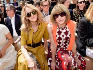 Celine Dion and Anna Wintour.