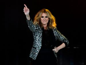 Céline Dion isn't afraid of a little couture.