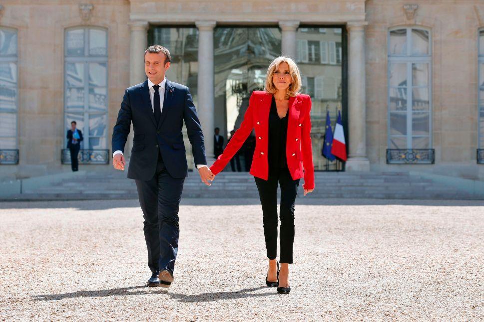 Brigitte Macron Is France's Commander in Chic