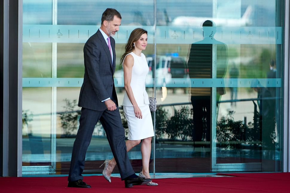 Watch Out Madonna: Everyone's Talking About Queen Letizia's Biceps