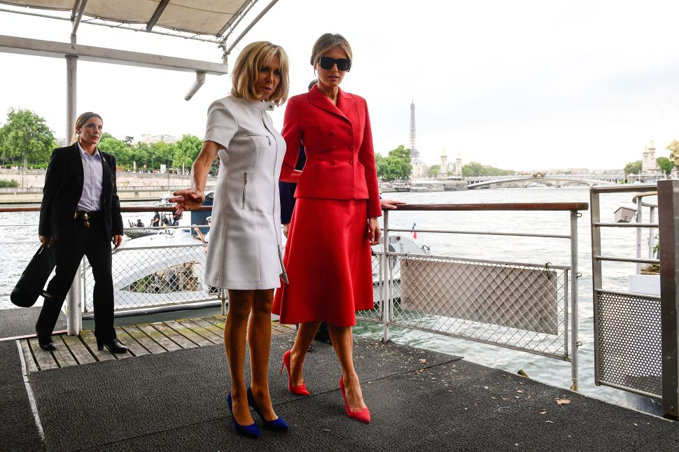 Melania Trump Wears Dior in Paris; Givenchy Starts Designing for Felines