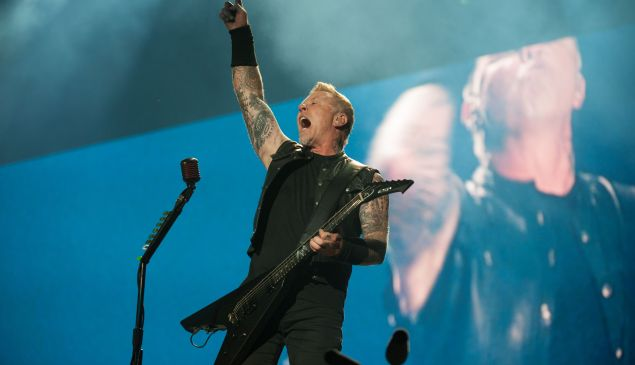 Metallica performs in concert during Quebec City Summer Festival on July, 14 2017.