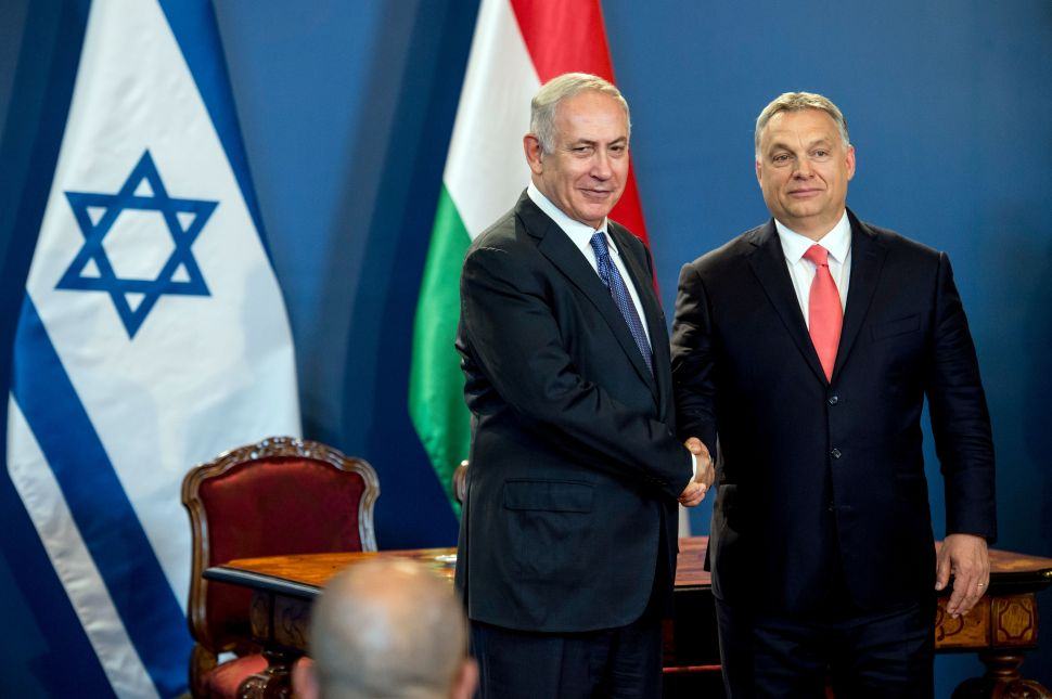 Hungarian Prime Minister Apologies to Netanyahu for Nazi Collaboration