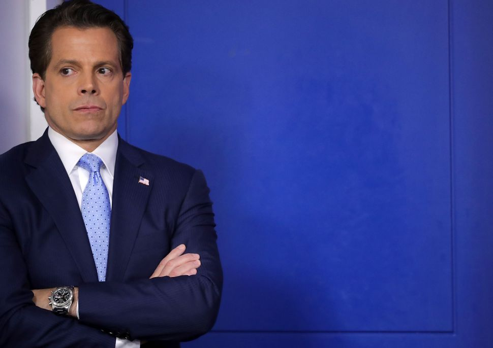 After 11 Days, Anthony Scaramucci Out as White House Communications Director