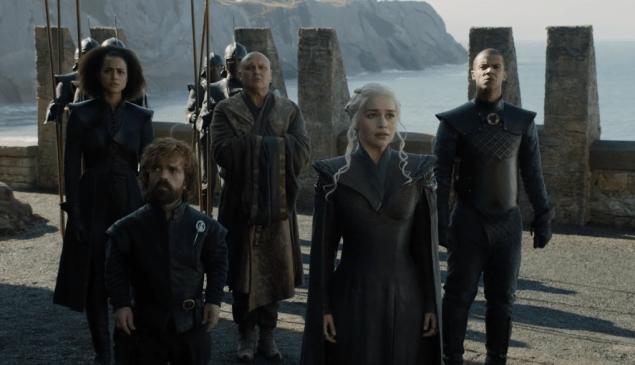Daenerys Targaryen finally arrives home at Dragonstone after seven seasons.