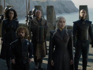 Daenerys Targaryen finally arrives home at Dragonstone after seven seasons.
