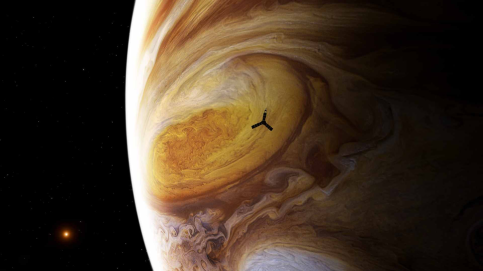 Images Are Coming in From Humanity's First Flyby of Jupiter's Great Red Spot