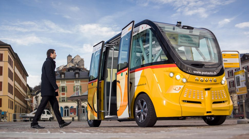 Michigan Will Build 25 Self-Driving Trolleys in 2017
