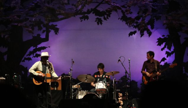 Wilco performs at Solid Sound.