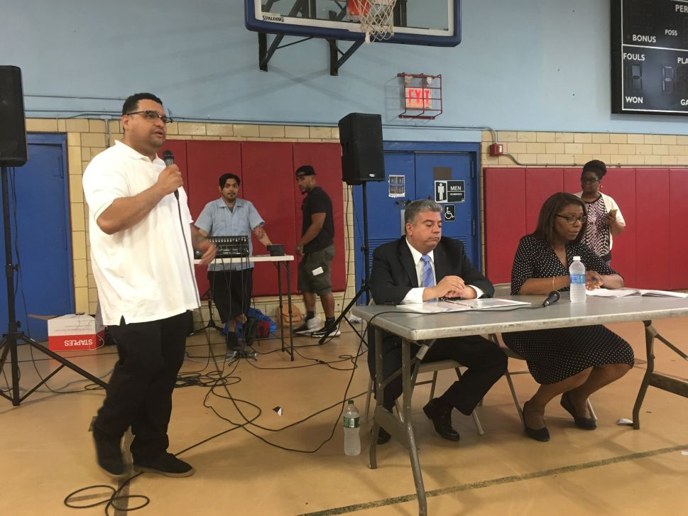 Activists and Residents Grill Pols on 'Broken Windows' at Sunset Park Town Hall
