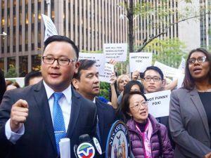 Queens Assemblyman Ron Kim.