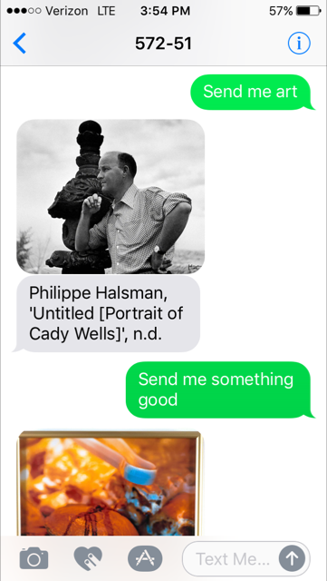 SFMOMA Will Text You Art Based on Your Mood