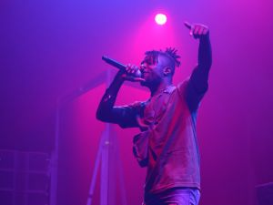 Isaiah Rashad rocked the Parlor stage on day one so hard that the floor caved in.