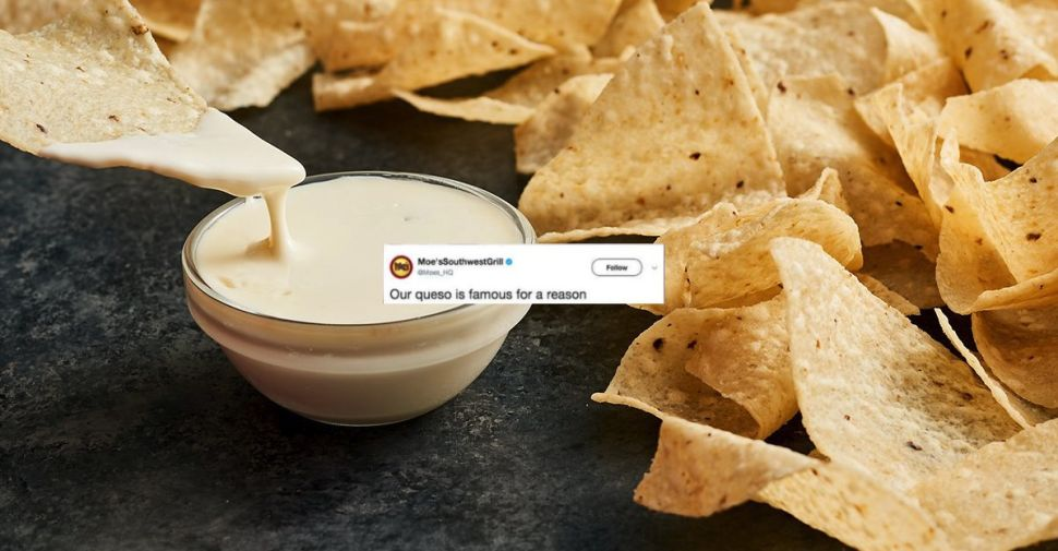 Chipotle Is Getting Trolled by Moe's on Twitter—and You Can Get Free Queso Out of It