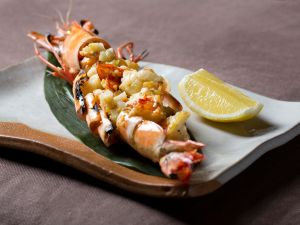 The jumbo tiger prawn with yuzu pepper is a showstopper.