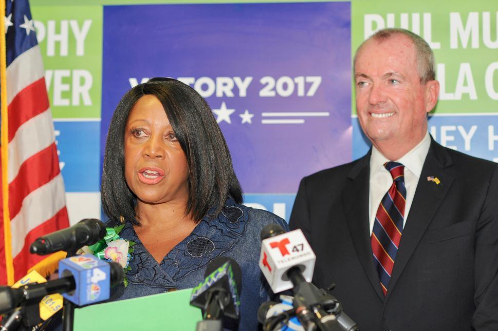 Can Sheila Oliver Run for Assembly and LG at Same Time?