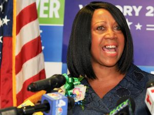Sheila Oliver officially joined the Democratic ticket as candidate for lieutenant governor.