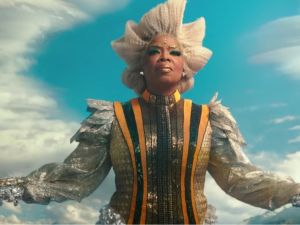 Oprah Winfrey as Mrs. Which in A Wrinkle in Time.