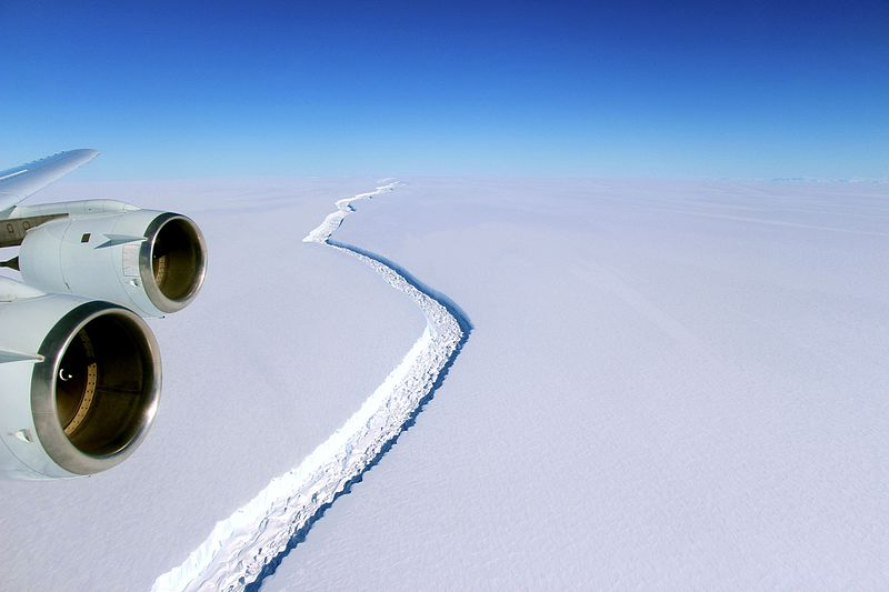 A Massive Iceberg the Size of Delaware Just Snapped Off Antarctica