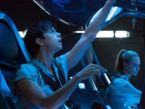 Dane DeHaan and Cara Delevingne in Luc Besson's Valerian and the City of a Thousand Planets.