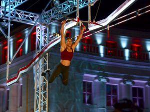 Competitor Meagan Martin in American Ninja Warrior.