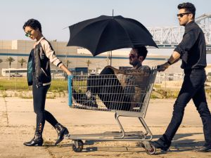 Ruth Negga as Tulip O'Hare, Joseph Gilgun as Cassidy, Dominic Cooper as Jesse Custer.