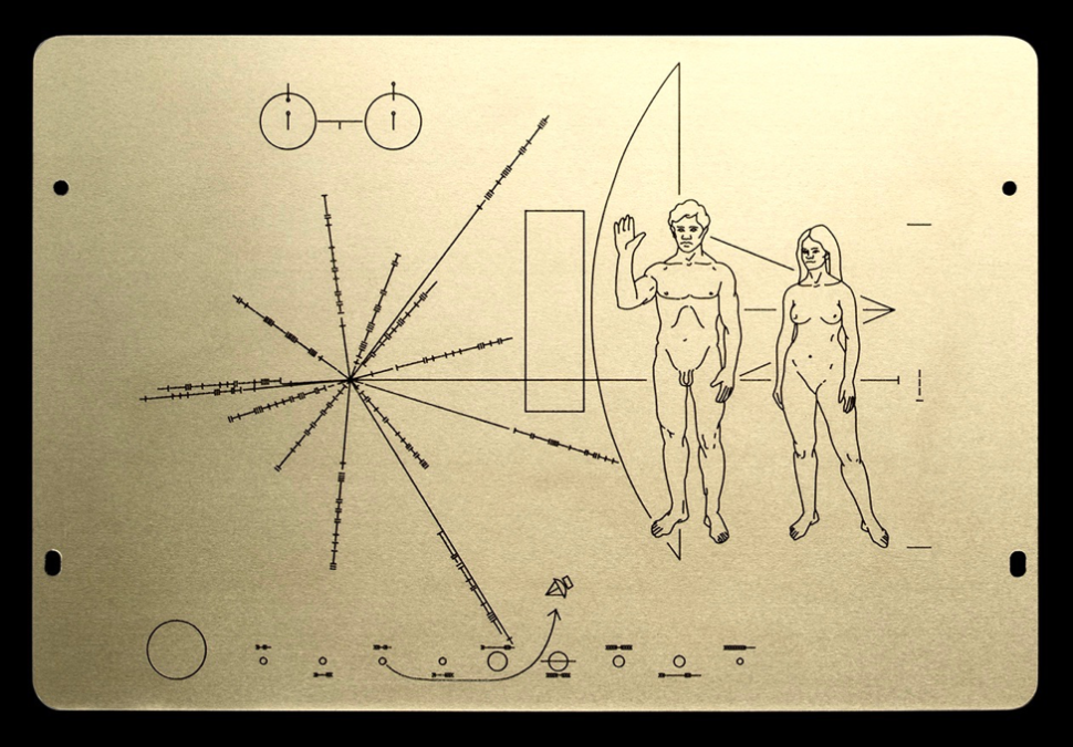 In 1972, Humans Sent This Greeting Card to Aliens—One Designer Is Bringing It Back