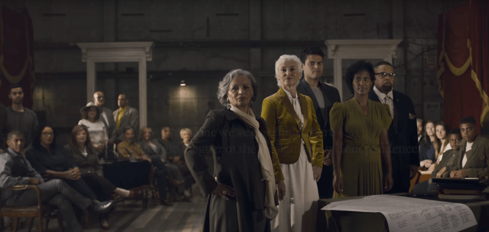 'Declaration of Independence' Painting Recreated With Founders' Diverse Descendants