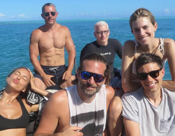 Bradley Cooper and Irina Shayk Went to Tahiti With an A-List Crowd