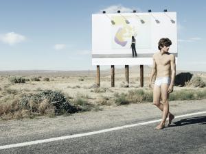 Calvin Klein ad campaign.