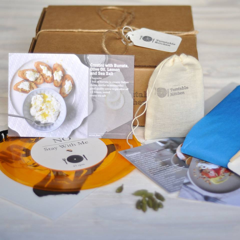 Turntable Kitchen Delivers Music and Food Pairings to Your Door