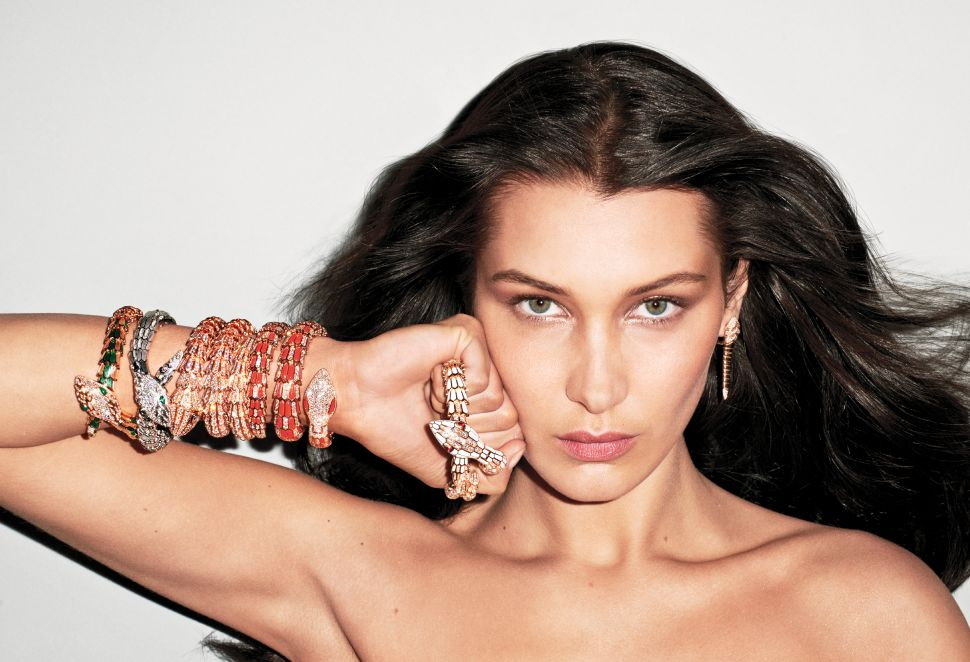 Bella Hadid Rocks Amazing Jewels—and Little Else—for V Magazine