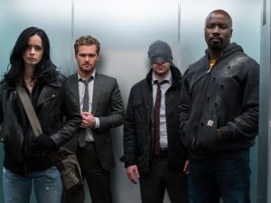 Marvel's The Defenders.