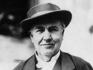 Thomas Edison napped for up to three hours per day.