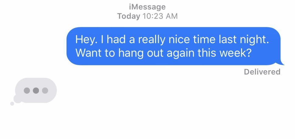 Don't Worry—She'll Respond