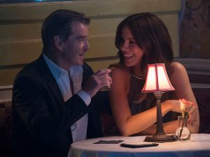 Kate Beckinsale and Pierce Brosnan in The Only Living Boy in New York.