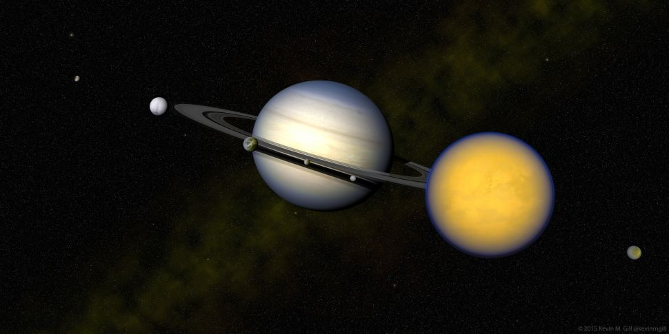 Saturn's Moon Added to List of Candidates for Supporting Life in Solar System