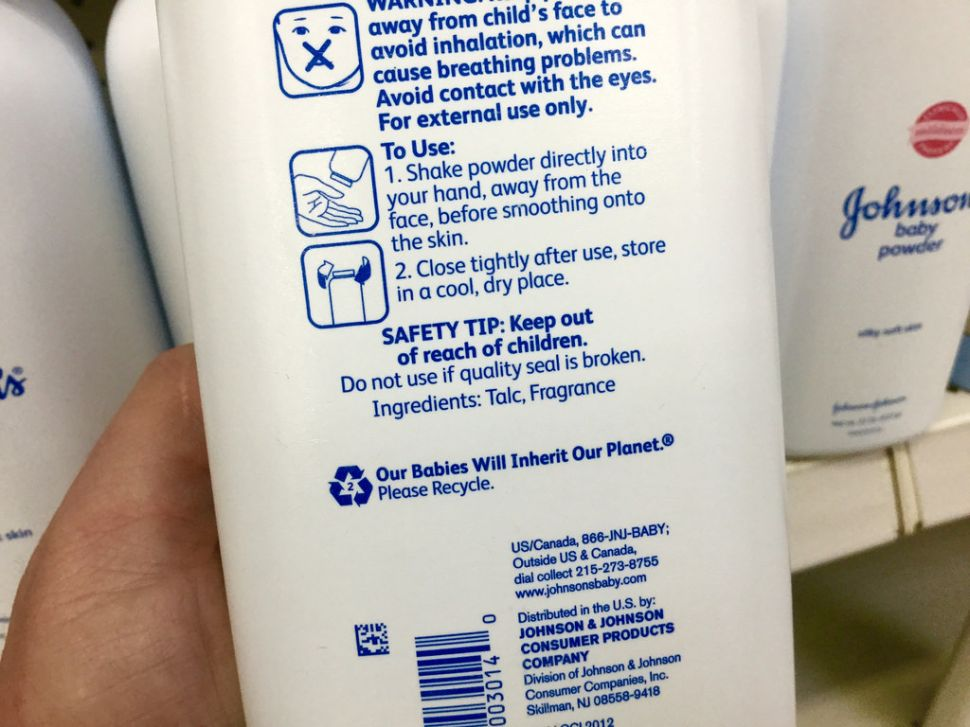 Johnson & Johnson Ordered to Pay $417 Million in Baby Powder Cancer Suit