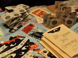 Small Press Expo in Bethesda, Maryland in 2009.