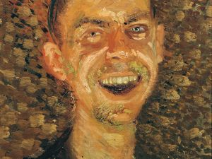 Richard Gerstl, Self-Portrait, Laughing, 1907. Oil on canvas.