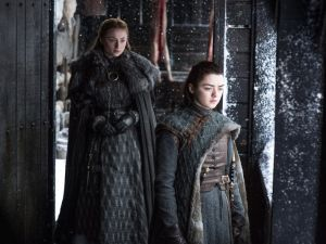 Sansa and Arya.
