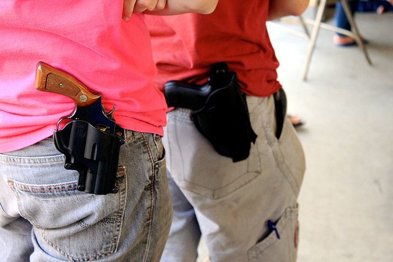 More States Are Allowing Guns on College Campuses