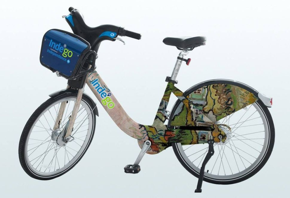 Philadelphia Bike Share Gets Facelift From Barnes Foundation With Art-Wrapped Frames
