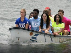 Not a happy group of boaters.