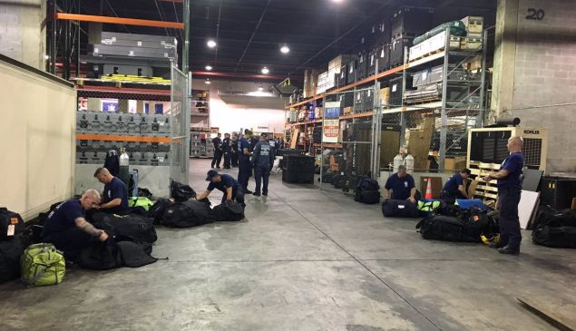The city sent 120 emergency personnel to Texas to help with Hurricane Harvey relief.