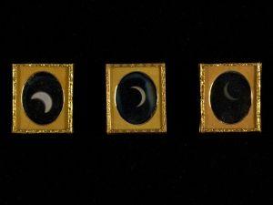 William Langenheim (American, born Germany, Schöningen 1807-1874) and Frederick Langenheim (American, born Germany, Schöningen 1809-1879), Eclipse of the Sun, 1854, Daguerreotype.