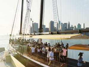 Pilot, docked at Brooklyn Bridge Park, Pier 6.