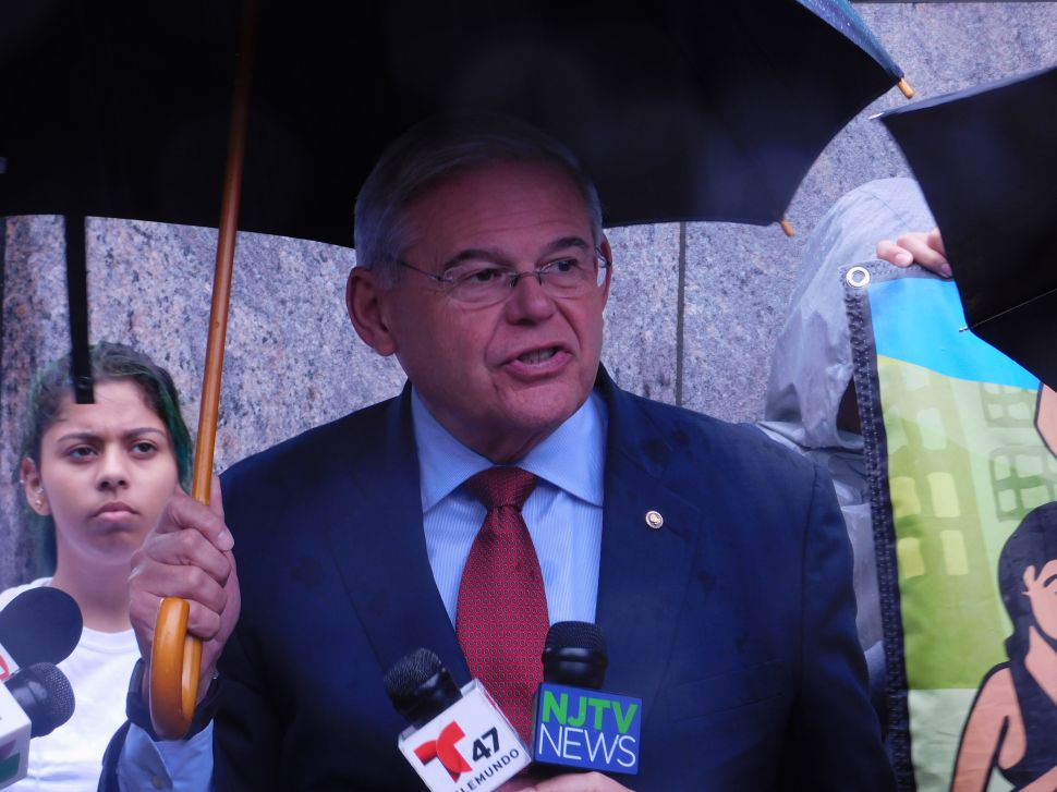 Menendez Defends Request to Pause Trial, Says His Rights Are at Stake