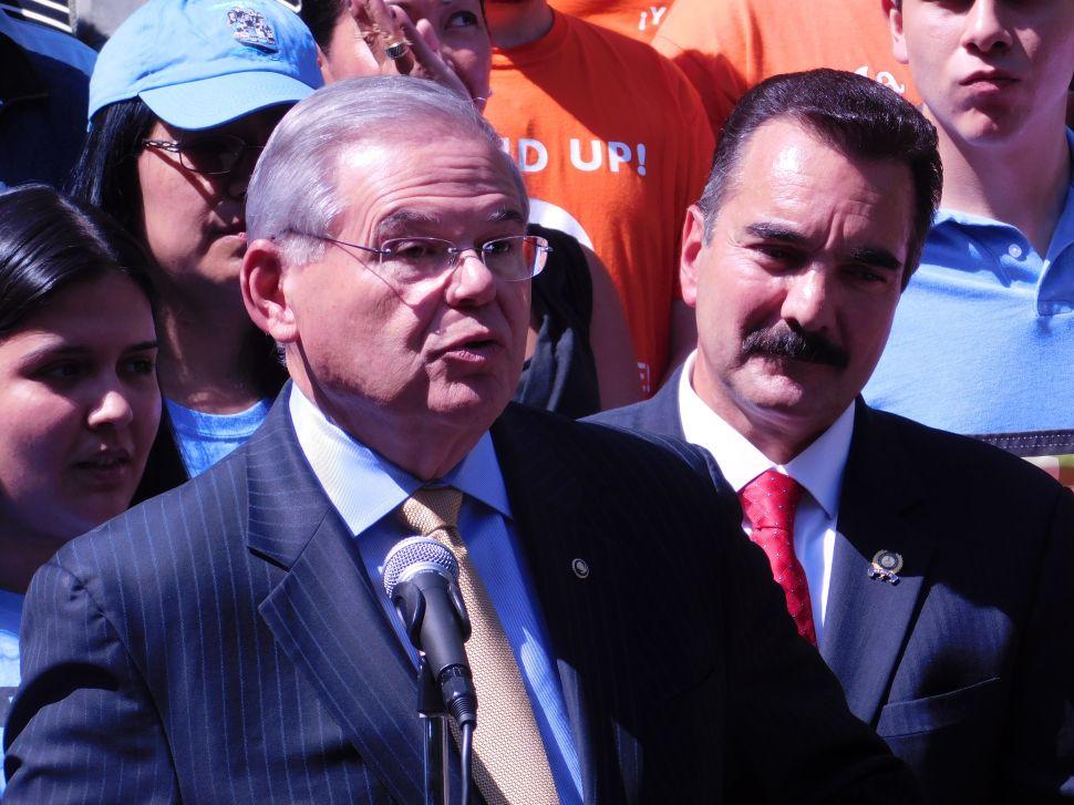 Menendez Threatened to Call Senate Hearing for Melgen, Official Says